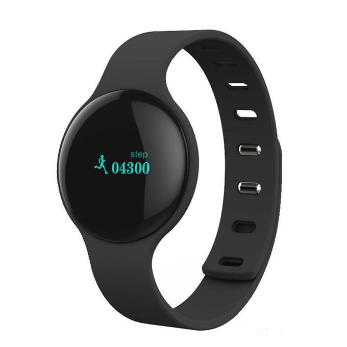 H8 Bluetooth Fitness Tracker Pedometer Sports Smart Watch for iOS Android (Black)