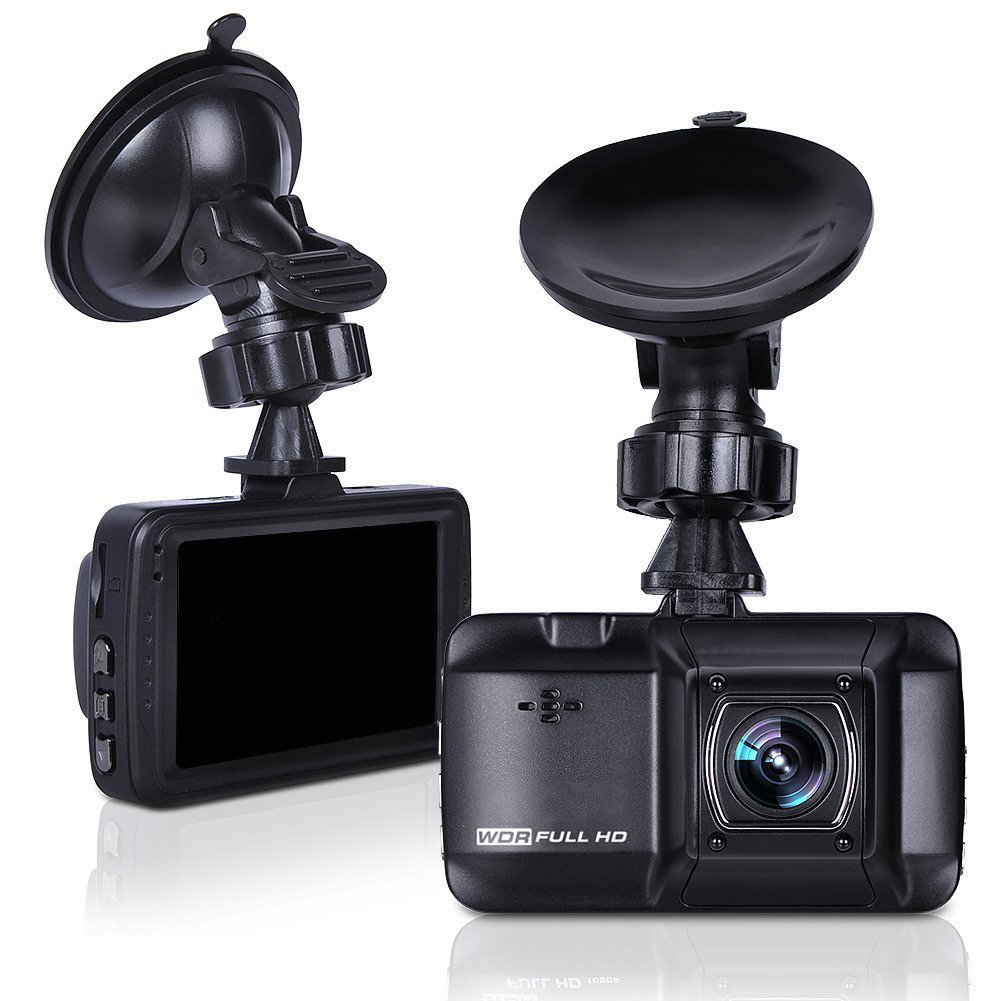 D101 3.0 inch WDR Full HD 1080P Car Recorder Night Vision Car Camera