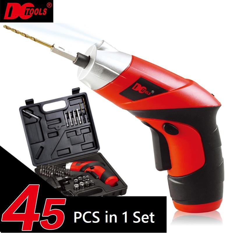 45 Pcs in 1 DCTOOLS S025 Cordless Electric Screwdriver Drill Tools Set
