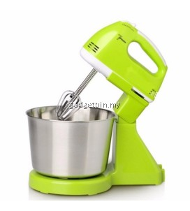 SINBO 7 Speed Stainless Steel Stand Mixer With Detachable Bowl (Green)