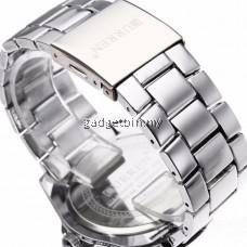 Curren 8110 Men's Stainless Steel Strap Watch FREE Water Bottle MyBottle