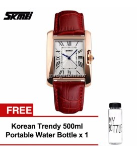 SKMEI 0929 Men's LED Analog Digital Alarm Stopwatch Wristwatch (Black) FREE Water Bottle MyBottle