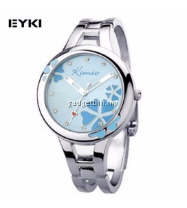[ BUY 1 FREE 1 ] Eyki K425L Kimio Lucky Grass Ladies' Watch Blue