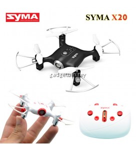 Syma X20 2.4G 4CH 6Axis Headless Mode Altitude Hold Mode RC Mini Quadcopter