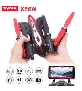 Syma X56W Wifi FPV G-sensor Foldable Drone 2.4G 4CH 6-axis Gyro RC Quadcopter Drone