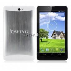 "7"" Ewing 3G MTK6572 Dual Core Dual Sim Aluminium Android 6.0 Tablet"