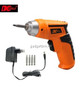6 Pcs in 1 DCTOOLS S031 Rechargeable Cordless Electric Screwdriver Drill Tools Set