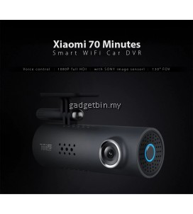 Xiaomi 70 Minutes HD 1080P 130 Degree Wide DVR Smart WiFi Car Camera