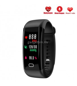 F07 Blood Pressure Heart Rate Monitor OLED Color Screen Bluetooth Smartband