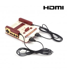 MiniFC HDMI Classic Retro TV Game Console NES 8Bit Classic Game 2 Controller Handles Joystick With 600 Games