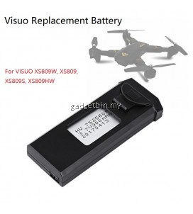 VISUO 3.7v 900mah Lipo Battery For XS809W XS809HW XS809 XS809HC XS809S Quadcopter Drone