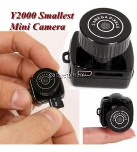 Smallest Mini Spy Cam Y2000 Video Camera HD DV DVR