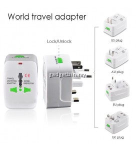 All in One Universal Travel Charger Adapter World Travel Adaptor