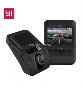YI 1080P FHD Night Vision LCD Screen Mini Dash Camera Car Camera