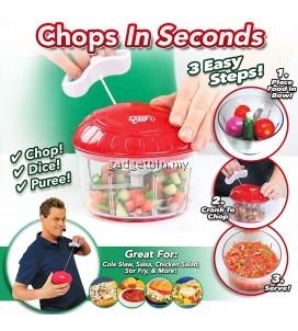 Crank Chop Food Chopper Chop Mince Puree in Second