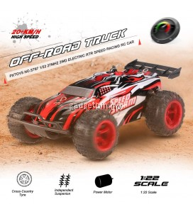 PXTOYS S787 27MHz 2WD 20km/h Off-Road Truck Speed Racing Remote Control Car
