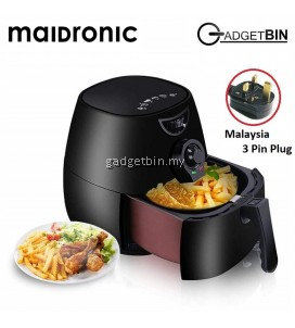 (Msia Plug) Maidronic Air Fryer Oil Free Fryer 2.5L 1300W