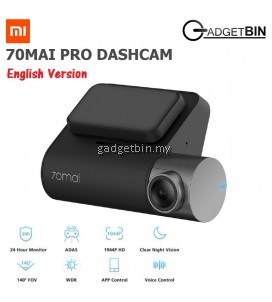 (ENG Version) Xiaomi 70mai PRO 1944P 140° Wide Angle Parking Monitor Dashcam Car Camera