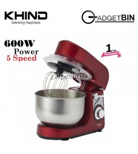 Khind SM350P Stand Mixer 3.5L With 5 Speed Settings