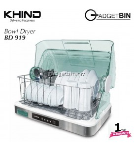 Khind BD919 Dish Dryer Hygienic Drying (Stainless Steel Tray)