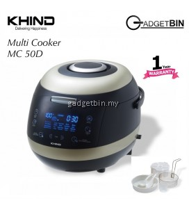 Khind MC50D Stylish Multi Cooker with Ceramic Coated Inner Pot