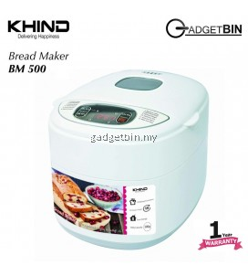 KHIND BM500 12 Baking Functions Bread Maker With 15 Hours Timer
