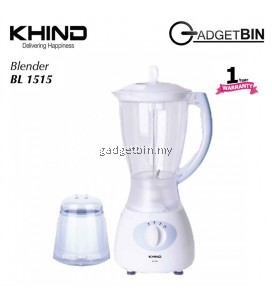 KHIND BL1515 Multifunctional Blender Juicer Extractor 1.5L