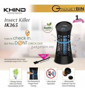 Khind IK365 UV Light Attraction Insect Killer