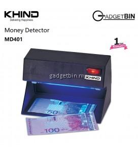 KHIND MD401 Money Detector UV Light Fake Money Detector