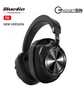 Bluedio T6 Active Noise Cancelling Wireless Bluetooth Headphones Headset With Mic
