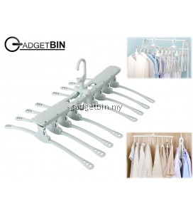 Magic Clothes Hanger Retractable Hanger Cloth Drying Rack