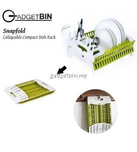 Gadgetbin Snapfold Foldable Dish Rack Kitchen Storage