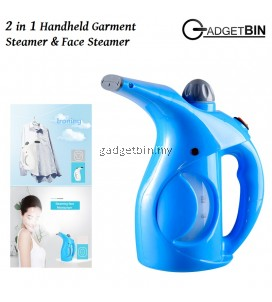 Gadgetbin WJ108 2in1 Portable Handheld Garment Steamer & Face Steamer