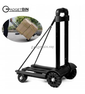 Gadgetbin Multifunctional Fordable Trolley Shopping Cart Folding Travel Luggage Carrier Trolley