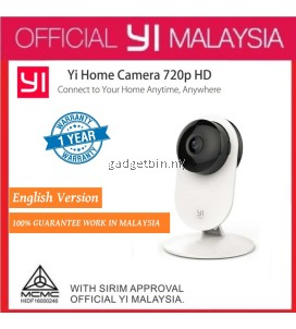 [OFFICIAL YI MALAYSIA] XiaoMi XiaoYi Ants Smart YI Home 720P HD 8MP Wifi IP Night Vision Infared IR Camera CCTV Video Recorder