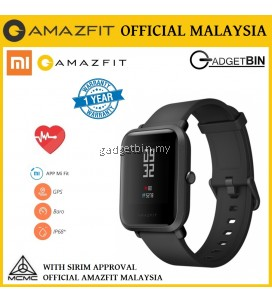 [OFFICIAL AMAZFIT MALAYSIA] Xiaomi Huami Amazfit BIP Heart Rate Monitor LCD Display Fitness GPS Smart Watch - English Version
