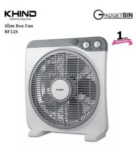 Khind BF12S 12 Inch Slim Box Fan With 3 Speed Adjust