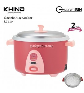 Khind RC910 Smart Rice Cooker 1.0L FREE Steam Tray