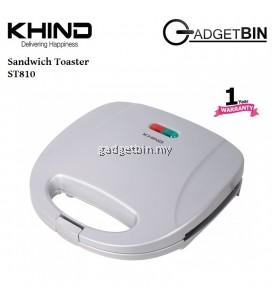 Khind ST810 Non Stick Coating Sandwich Toaster