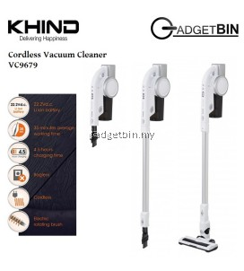 Khind VC9679 2 in 1 Rechargeable Handheld Cylone Cordless Vacuum Cleaner