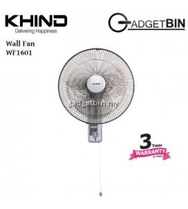 """Khind WF1601 16"""" 3 Speed Wall Fan"""