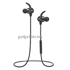 Taotronics TT-BH035 Magnetic Wireless Sports Headphones Bluetooth 4.2, TT Inner-Nano Coating Splash Proof Headphones, Convenient Inline Buttons, MEMS Mic & 6 Hrs Playtime for Running, Cycling, Gym [OFFICIAL TAOTRONICS M'SIA]