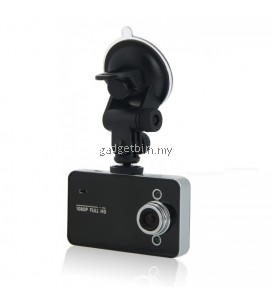 "K6000 2.4"" LCD HD 1080P IR Night Vision Blackbox Car DVR Video Recorder G-sensor (Black)"
