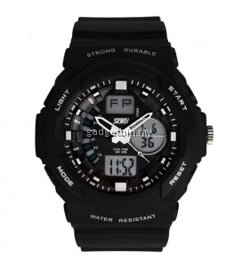 SKMEI 0955 Men's LED Analog Digital Alarm Sport Watch