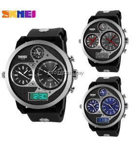 SKMEI 1033 Men's Military Sports Quartz Digital Multi Movement Watch