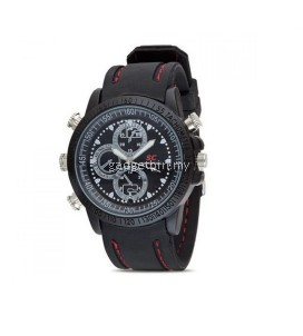 16GB SC HD Waterproof RUBBER Watch Design Spy Camera With Video Camcorder