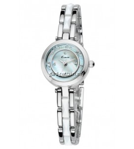 Eyki Kimio KW509S Women's Moving Crystal Stainless steel Watch