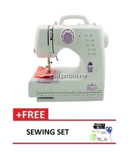 Expert Sewing Machine 505B 10 sewing option - Purple + Free Sewing Set