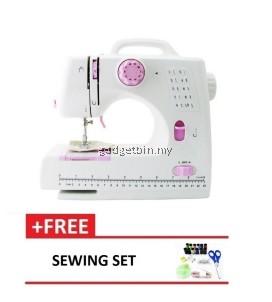 Expert Sewing Machine 505B 10 sewing option - Pink + Free Sewing Set