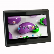 7 Inch Ewing Monster A33 Quad Core 1.5gHz 8GB Bluetooth Dual Camera Android 4.4 Tablet (Black) FREE Leather Case